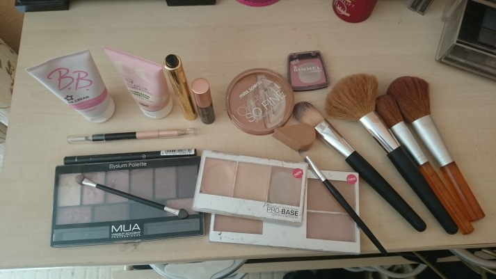 "my ""old"" make up bundle"